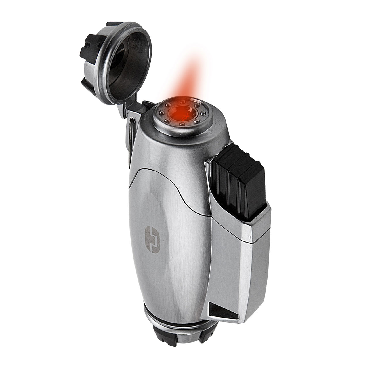 True Utility Sturmfeuerzeug TU407 TurboJet Lighter silber 0