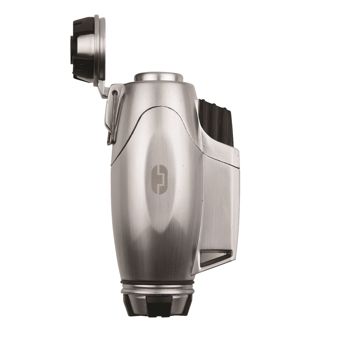 True Utility Sturmfeuerzeug TU407 TurboJet Lighter silber 1
