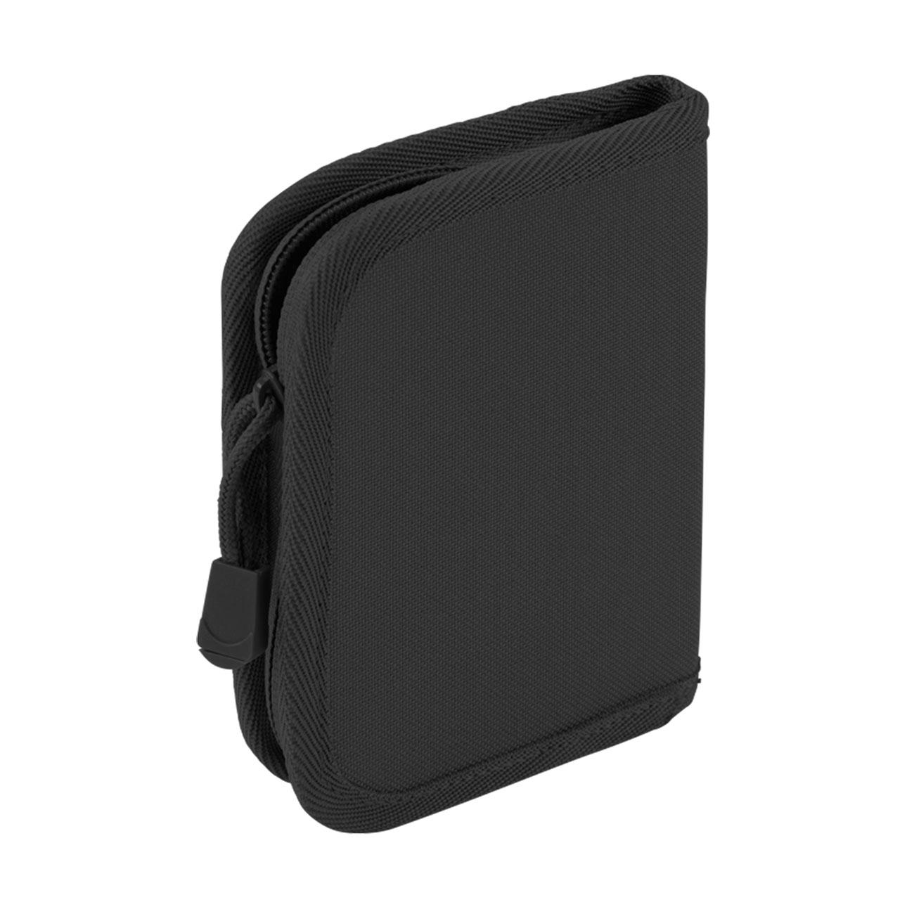 f4318386efe5 Brandit Geldbeutel Wallet schwarz mit Reißverschluss