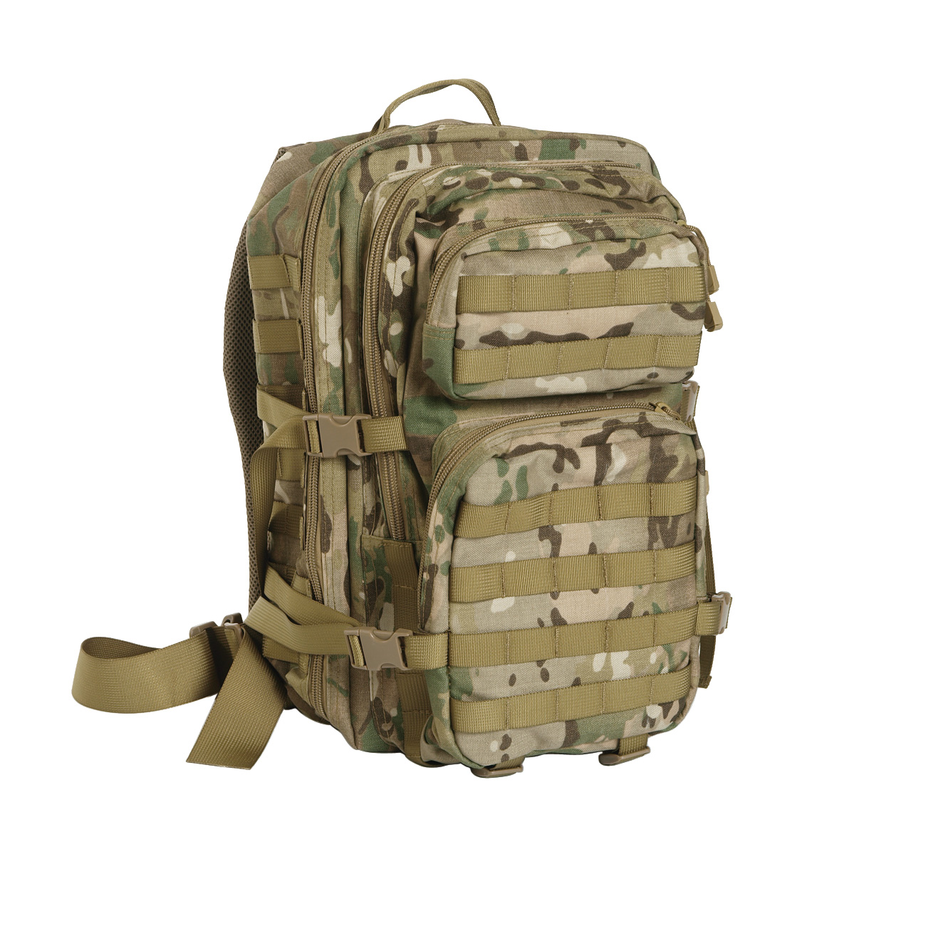 Mil-Tec Rucksack US Assault Pack II 40 Liter multitarn 0
