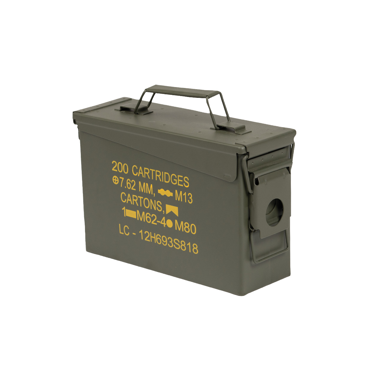 Mil-Tec Munitionskiste US Ammo Box Steel M19A1 cal. 30 0
