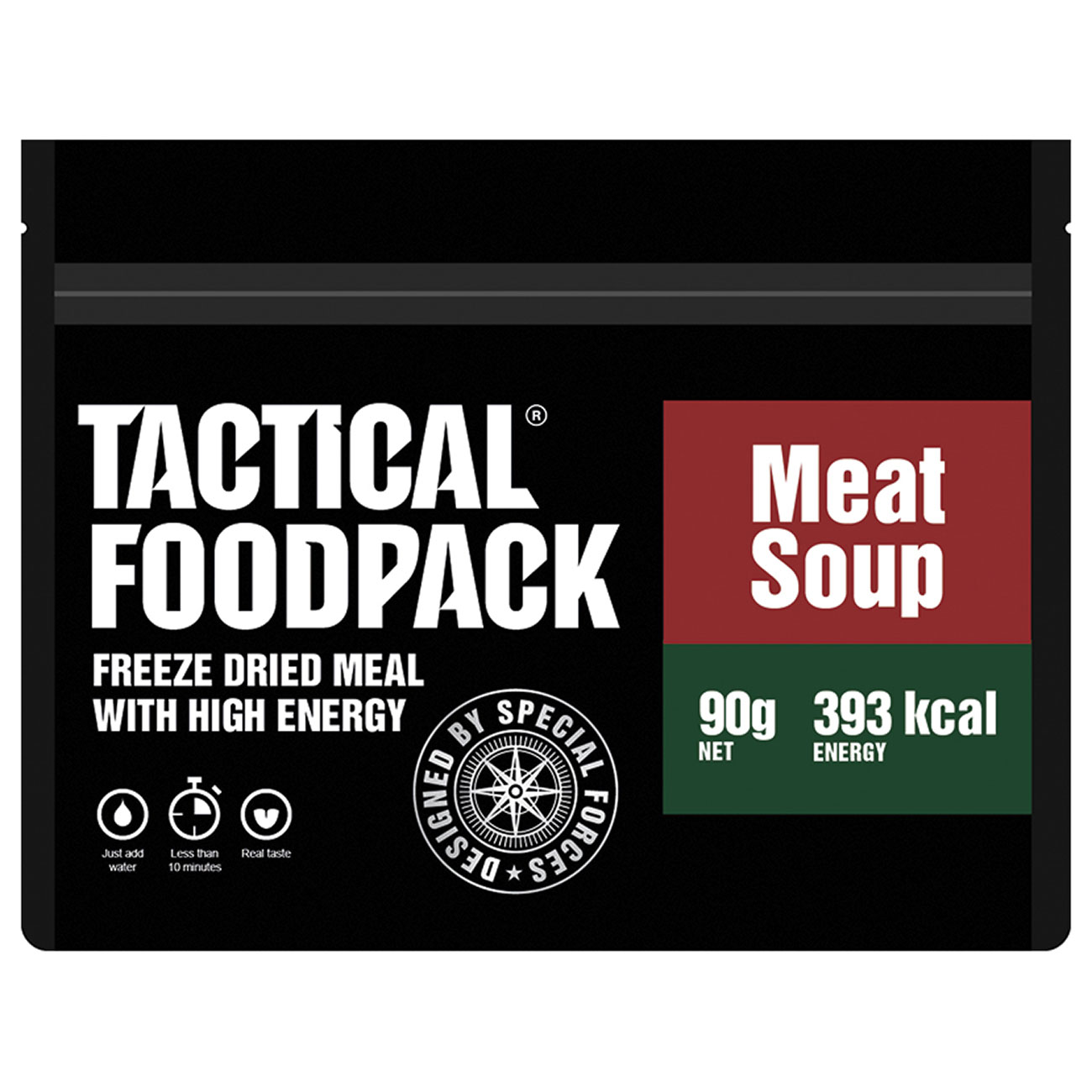Tactical Foodpack Outdoor Mahlzeit Fleischsuppe 1