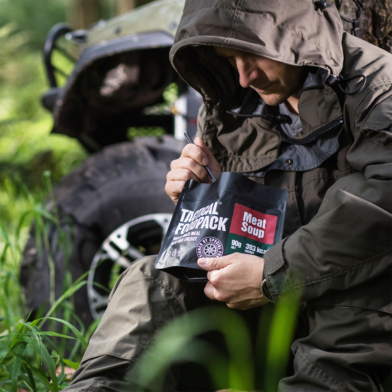 Tactical Foodpack Outdoor Mahlzeit Fleischsuppe 5