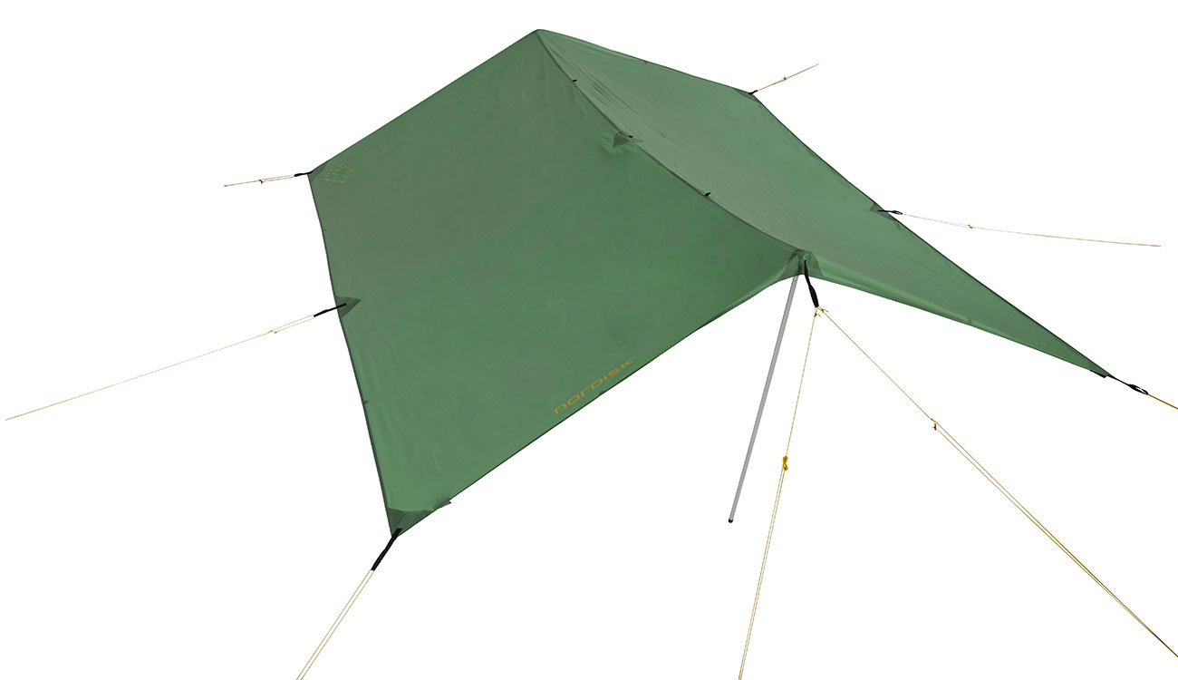 Nordisk Tarp Voss 9 m² PU dusty green 0