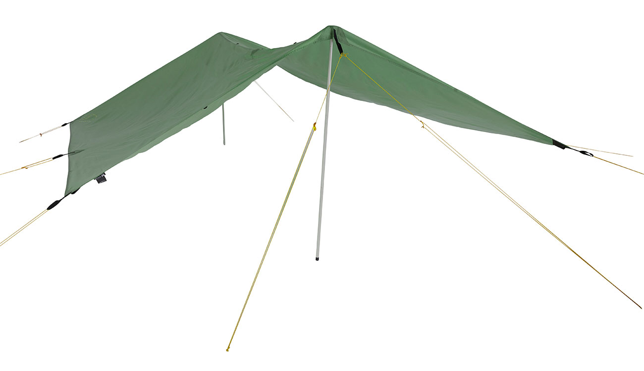 Nordisk Tarp Voss 9 m² PU dusty green 1
