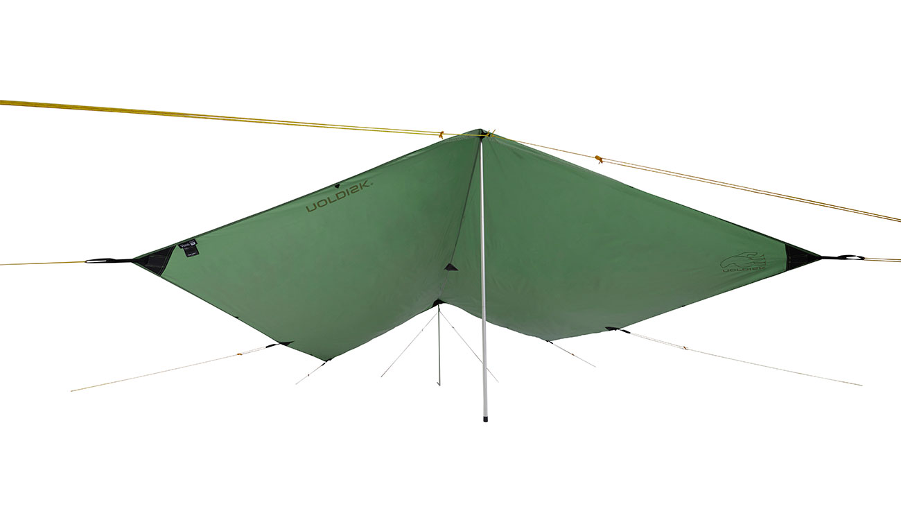 Nordisk Tarp Voss 9 m² PU dusty green 2