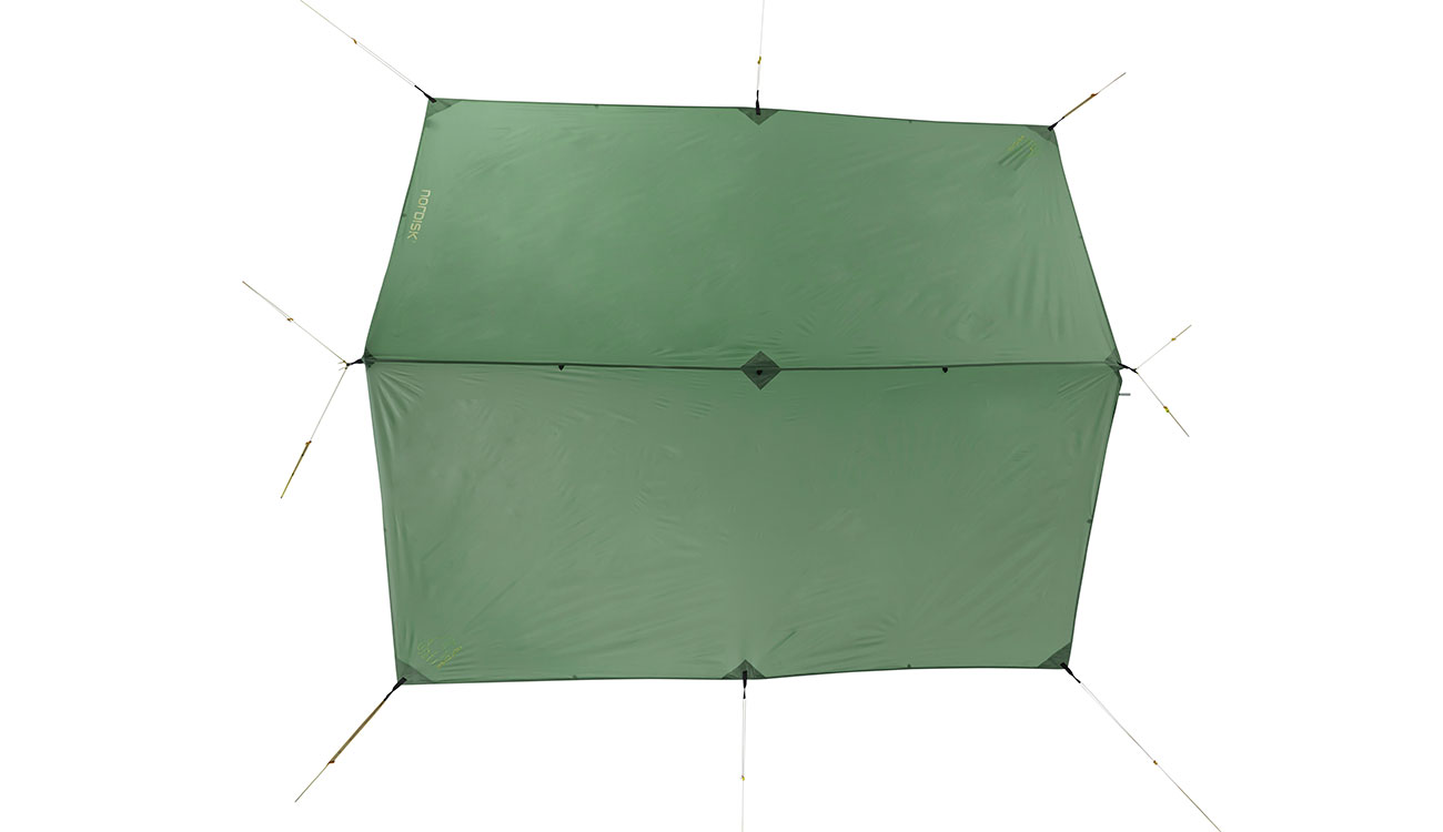 Nordisk Tarp Voss 9 m² PU dusty green 3