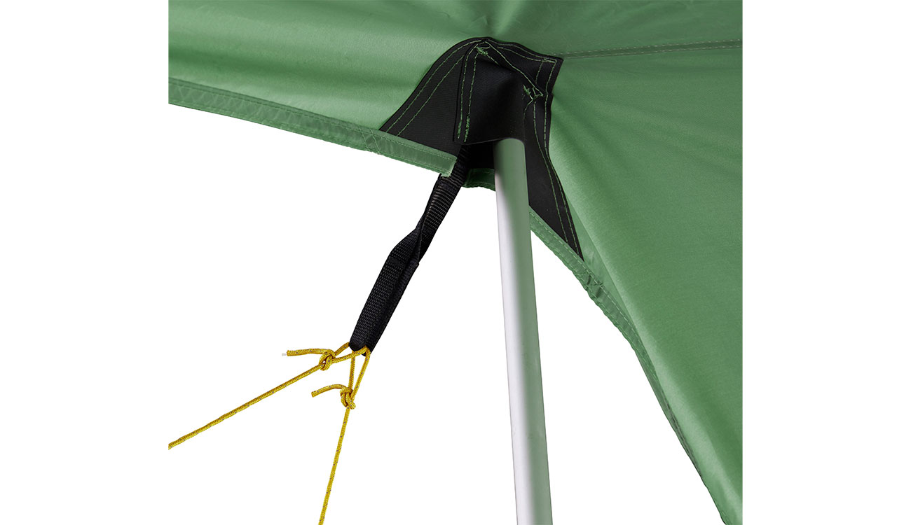 Nordisk Tarp Voss 9 m² PU dusty green 6