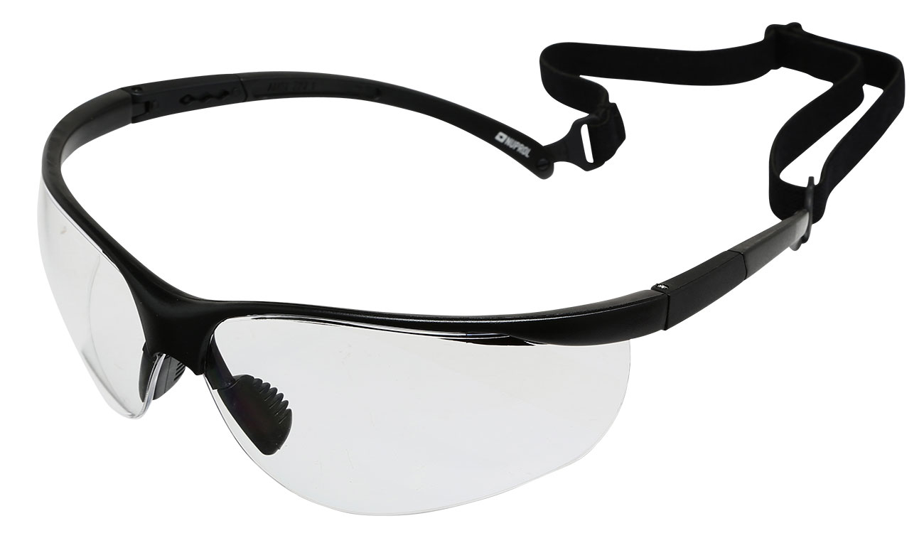 Nuprol NP Specs Airsoft Protective Schutzbrille klar 0