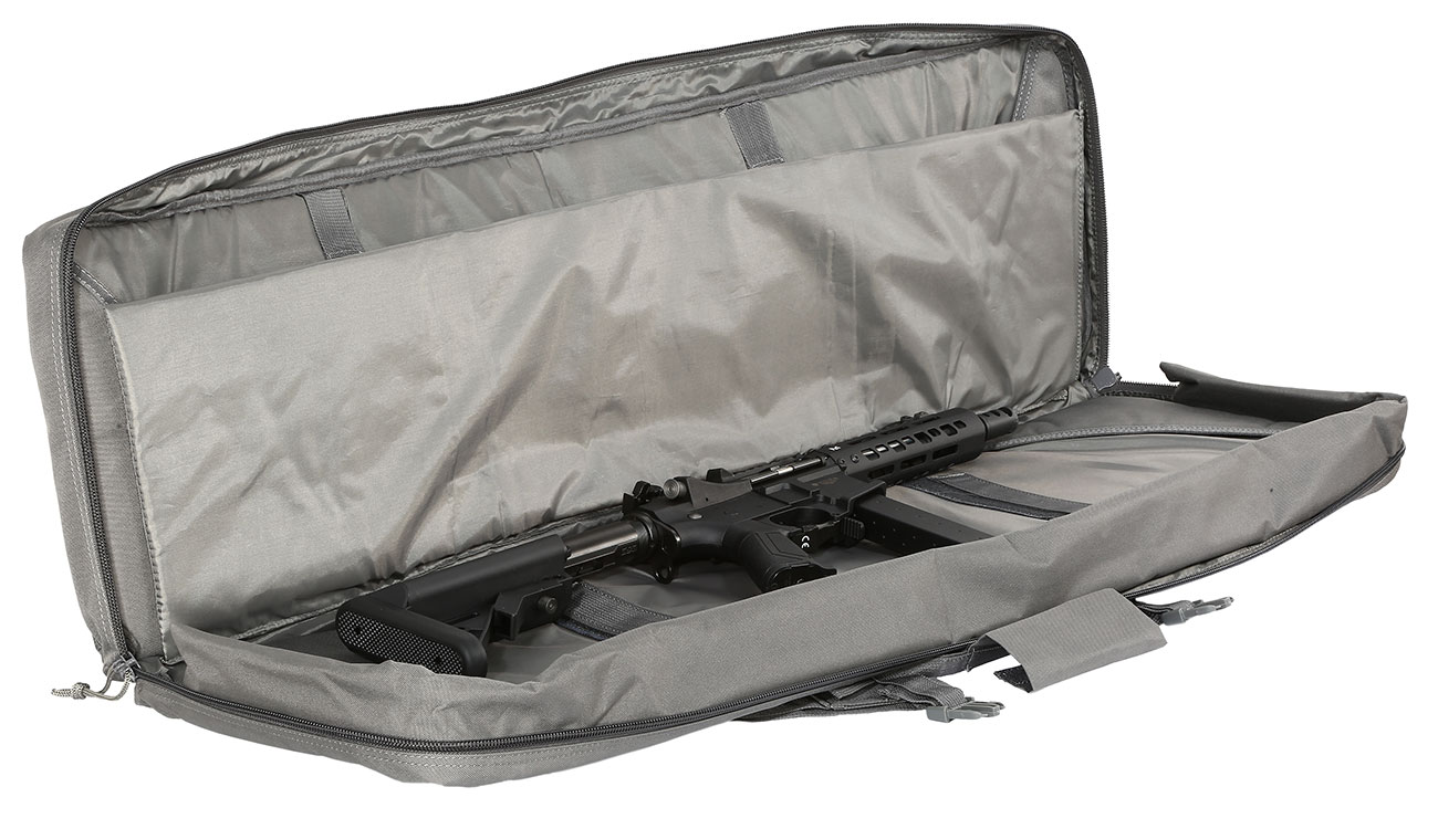 Nuprol 42 Zoll / 108 cm PMC Deluxe Soft Rifle Bag / Gewehr-Futteral grau 4