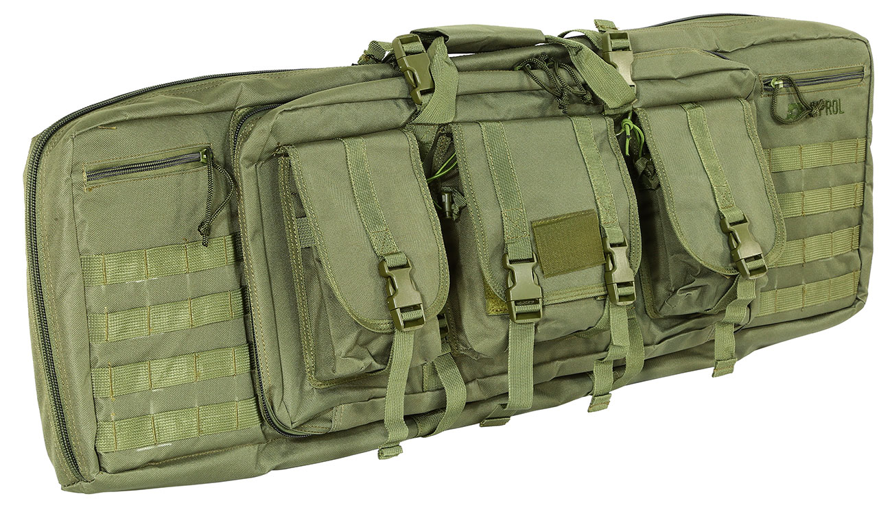 Nuprol 42 Zoll / 108 cm PMC Deluxe Soft Rifle Bag / Gewehr-Futteral oliv 0