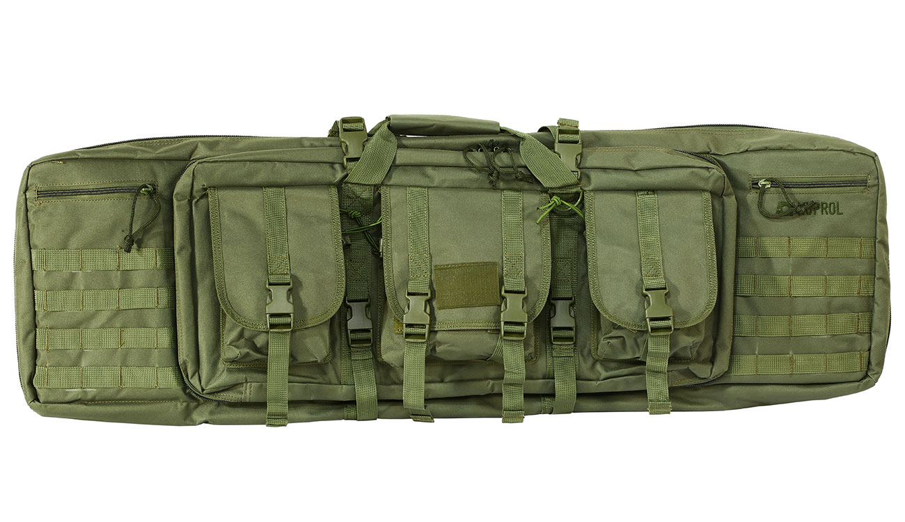 Nuprol 42 Zoll / 108 cm PMC Deluxe Soft Rifle Bag / Gewehr-Futteral oliv 2