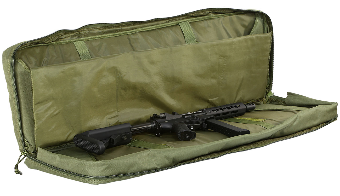 Nuprol 42 Zoll / 108 cm PMC Deluxe Soft Rifle Bag / Gewehr-Futteral oliv 4