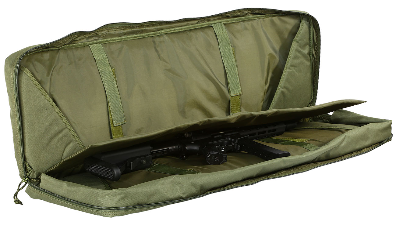 Nuprol 42 Zoll / 108 cm PMC Deluxe Soft Rifle Bag / Gewehr-Futteral oliv 5