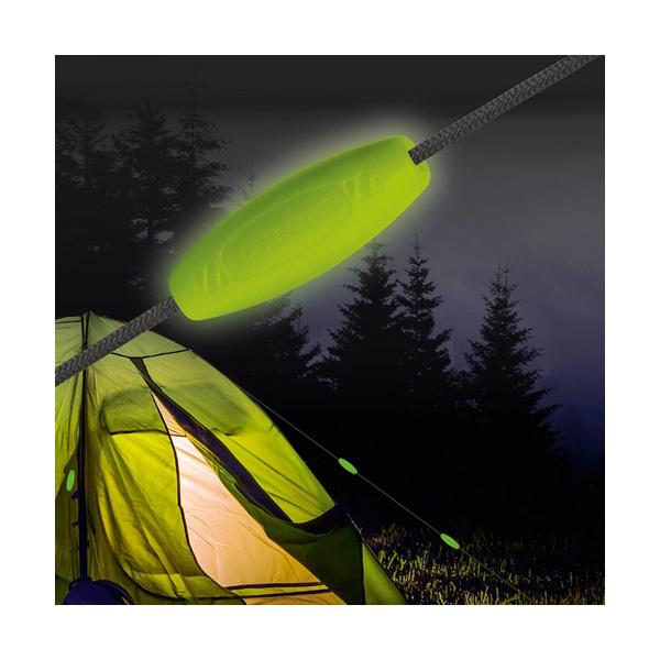 Ropescout Nachtleuchtende Markierclips 8er Set NEU