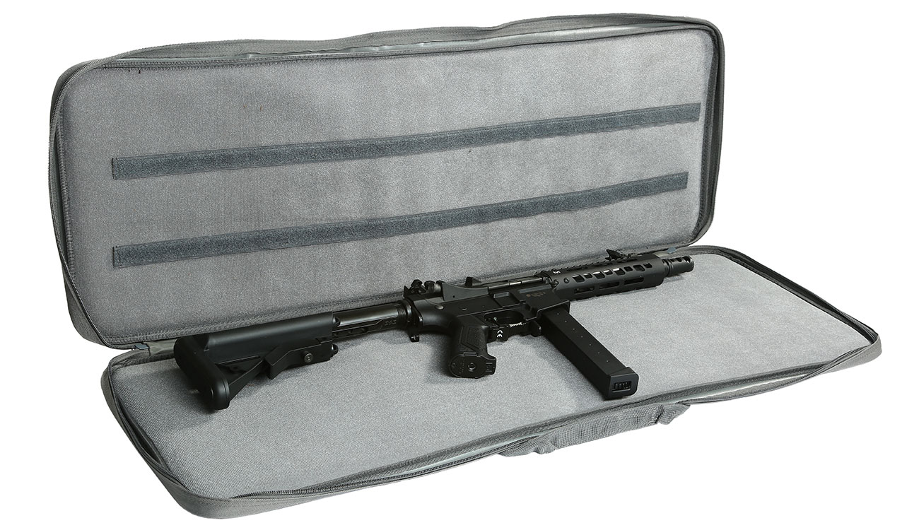 Nuprol 36 Zoll / 92 cm PMC Essentials Soft Rifle Bag / Gewehr-Futteral grau 4