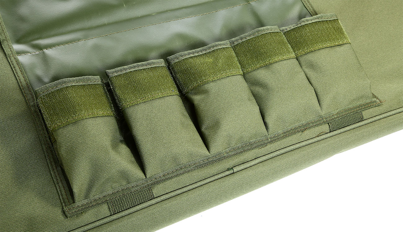 Nuprol 36 Zoll / 92 cm PMC Essentials Soft Rifle Bag / Gewehr-Futteral oliv 6