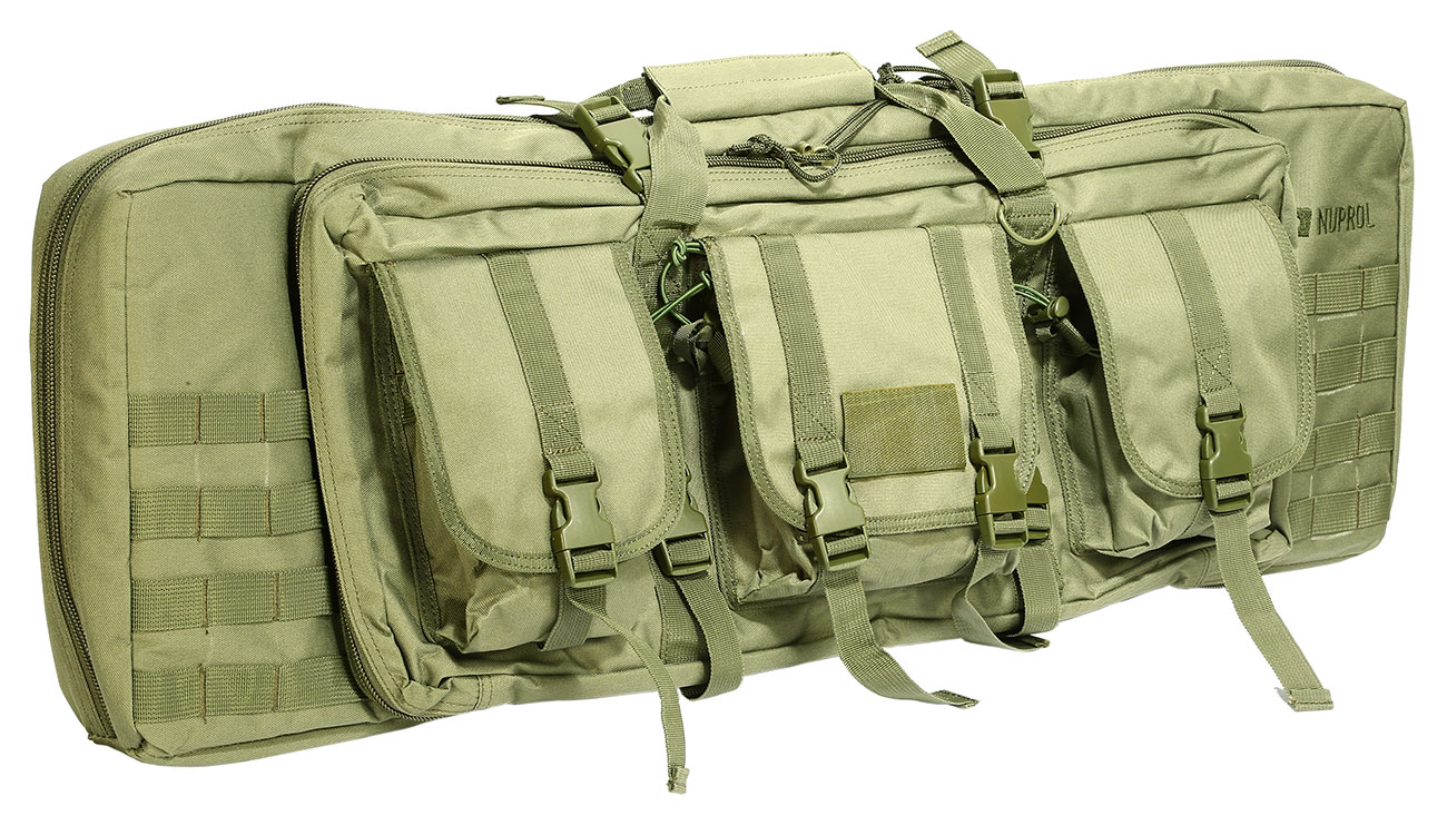 Nuprol 36 Zoll / 92 cm PMC Deluxe Soft Rifle Bag / Gewehr-Futteral oliv 0