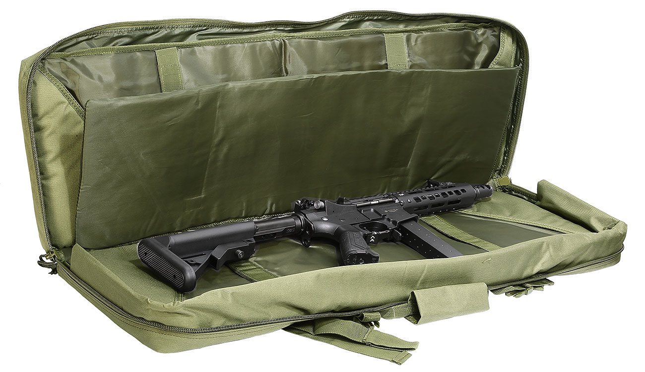 Nuprol 36 Zoll / 92 cm PMC Deluxe Soft Rifle Bag / Gewehr-Futteral oliv 4