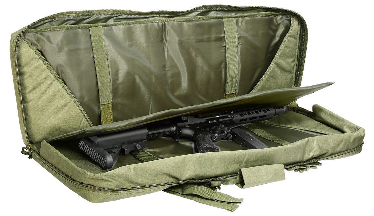 Nuprol 36 Zoll / 92 cm PMC Deluxe Soft Rifle Bag / Gewehr-Futteral oliv 5