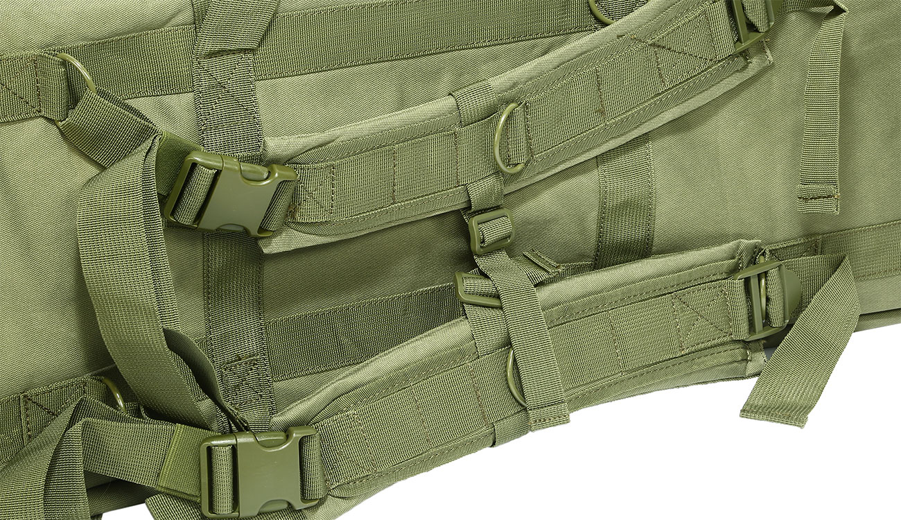 Nuprol 36 Zoll / 92 cm PMC Deluxe Soft Rifle Bag / Gewehr-Futteral oliv 7