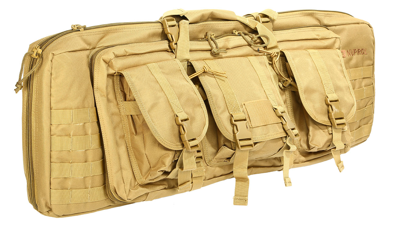 Nuprol 36 Zoll / 92 cm PMC Deluxe Soft Rifle Bag / Gewehr-Futteral tan 0