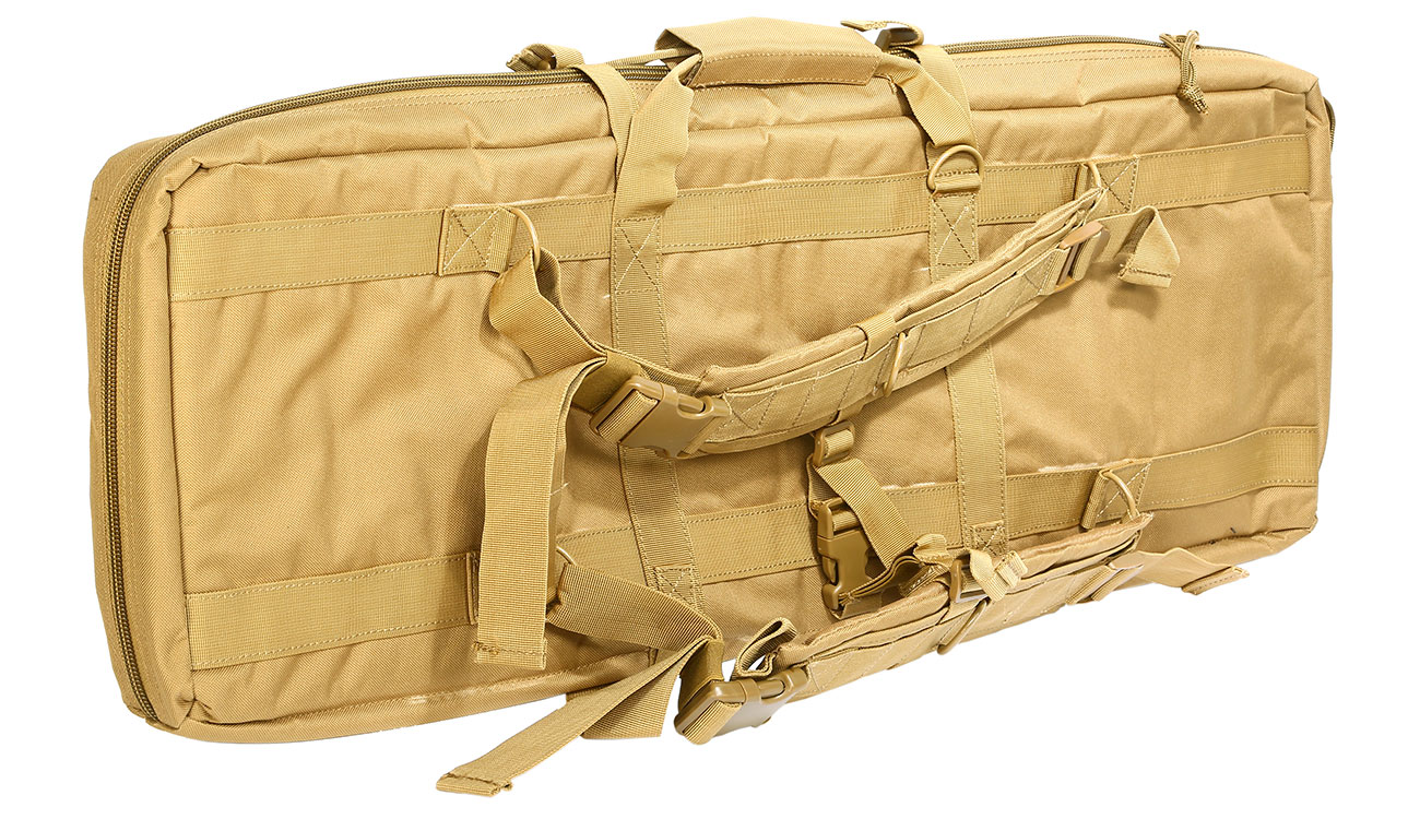 Nuprol 36 Zoll / 92 cm PMC Deluxe Soft Rifle Bag / Gewehr-Futteral tan 1
