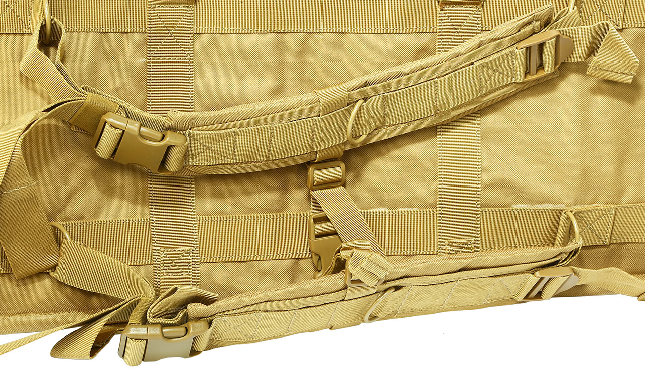 Nuprol 36 Zoll / 92 cm PMC Deluxe Soft Rifle Bag / Gewehr-Futteral tan 7