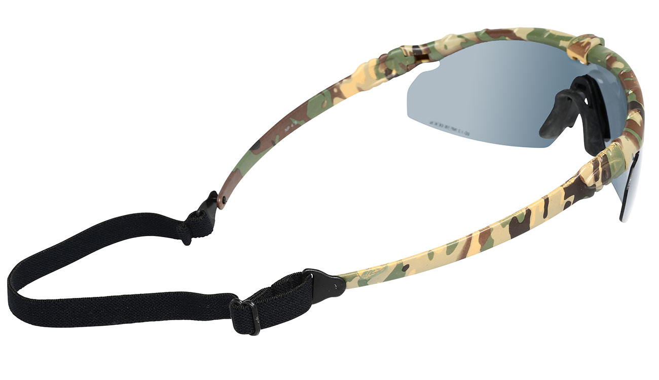 Nuprol Battle Pro Protective Airsoft Schutzbrille camo / rauch 2
