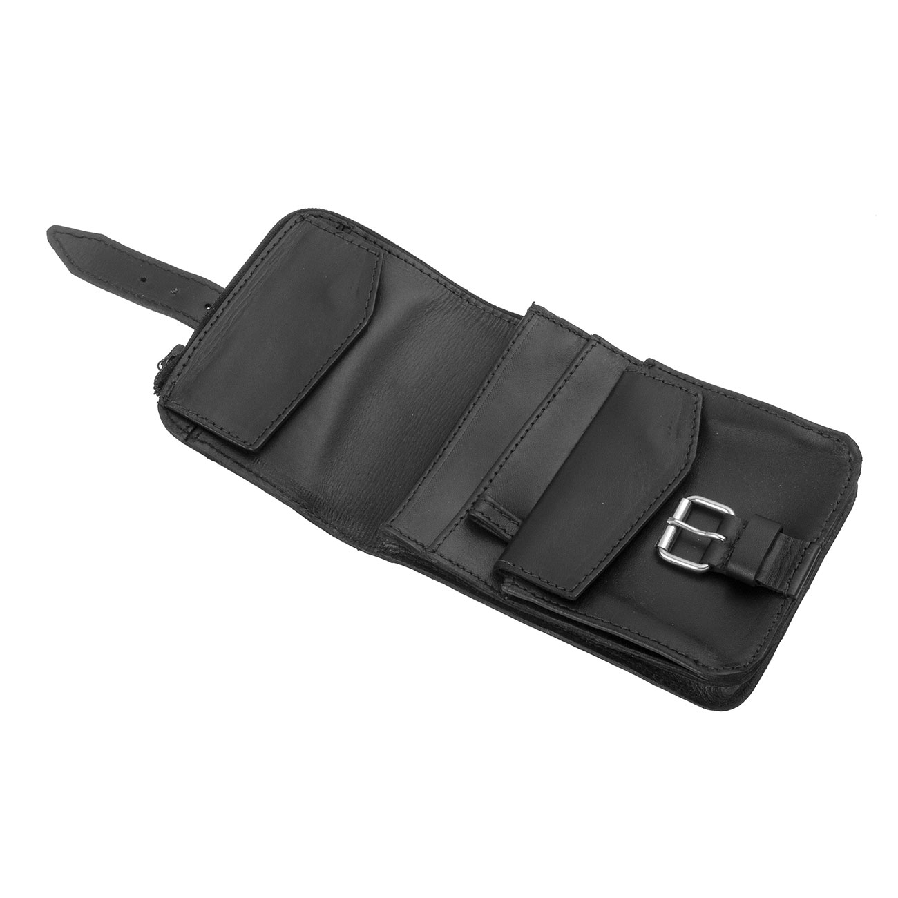 Basic Nature Gürteltasche Belt Safe 10 x 14 cm schwarz 2
