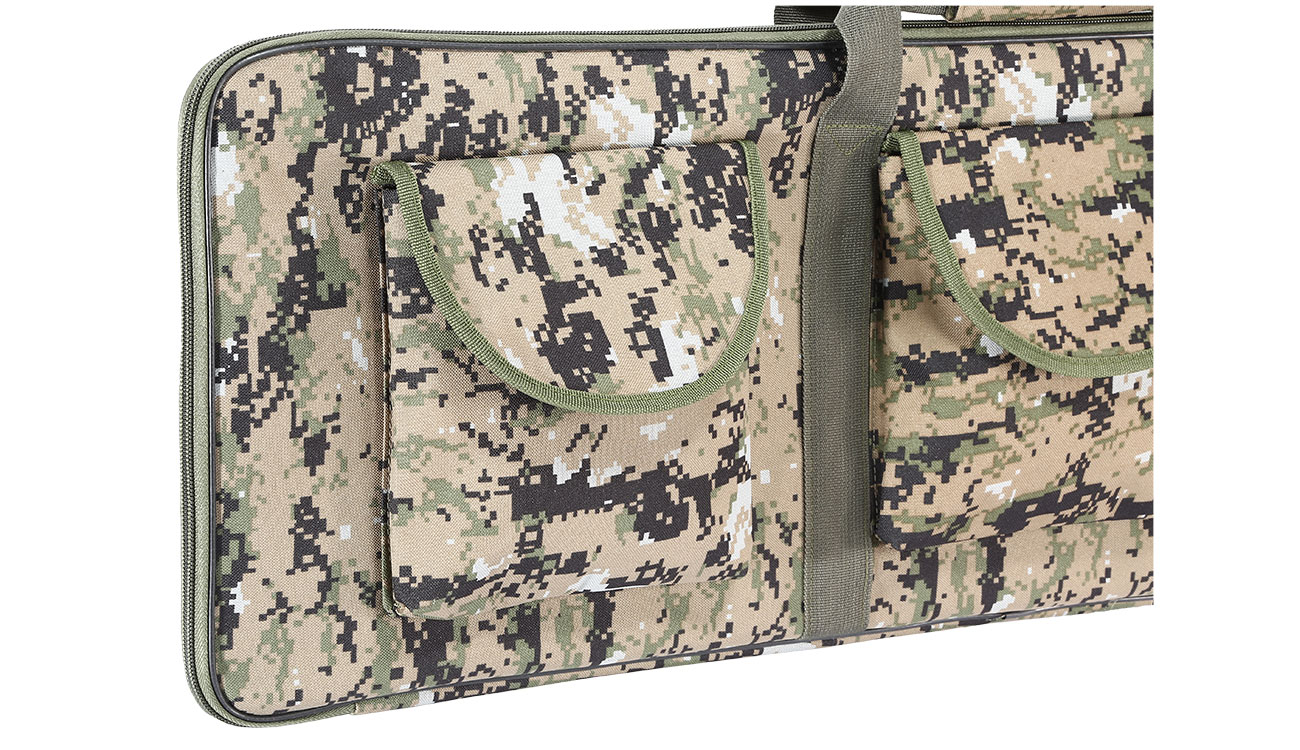 Fidragon 35 Zoll / 89cm Soft Rifle Bag / Waffenfutteral Digital Woodland 2