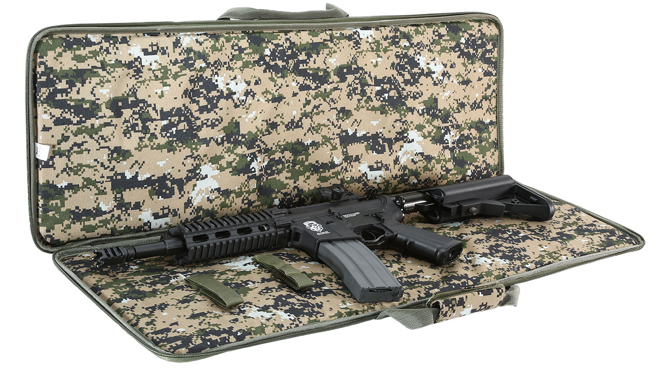 Fidragon 35 Zoll / 89cm Soft Rifle Bag / Waffenfutteral Digital Woodland 6
