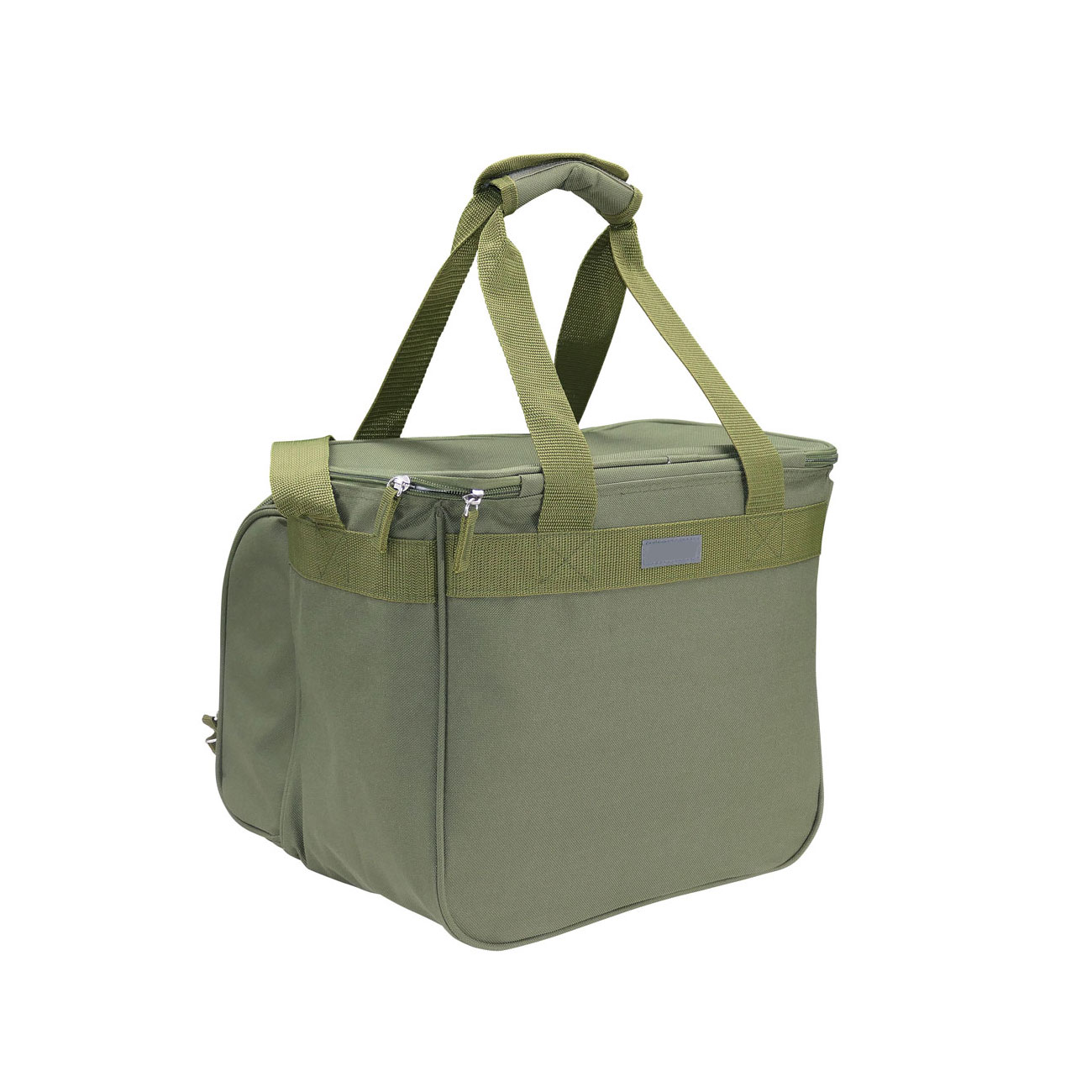 Commando Industries Kühltasche Cooler Bag 20 Liter mit Picknick-Set oliv 1