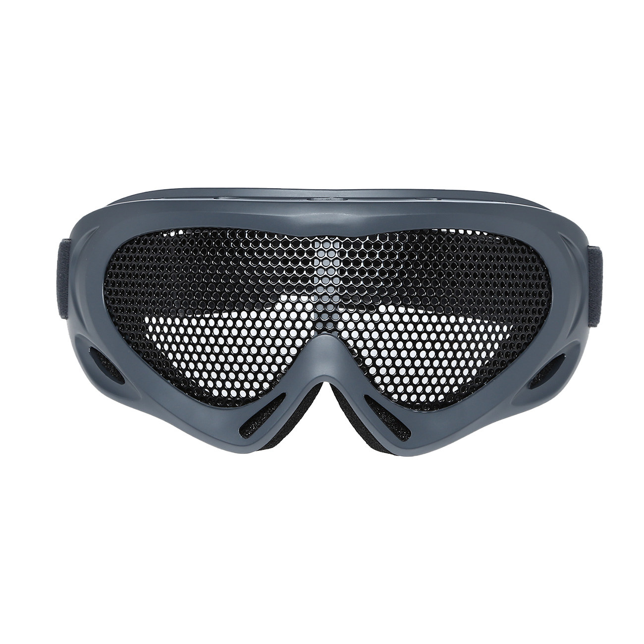 Nuprol Brille Pro Mesh Eye Protection Airsoft Gitterbrille grau 1