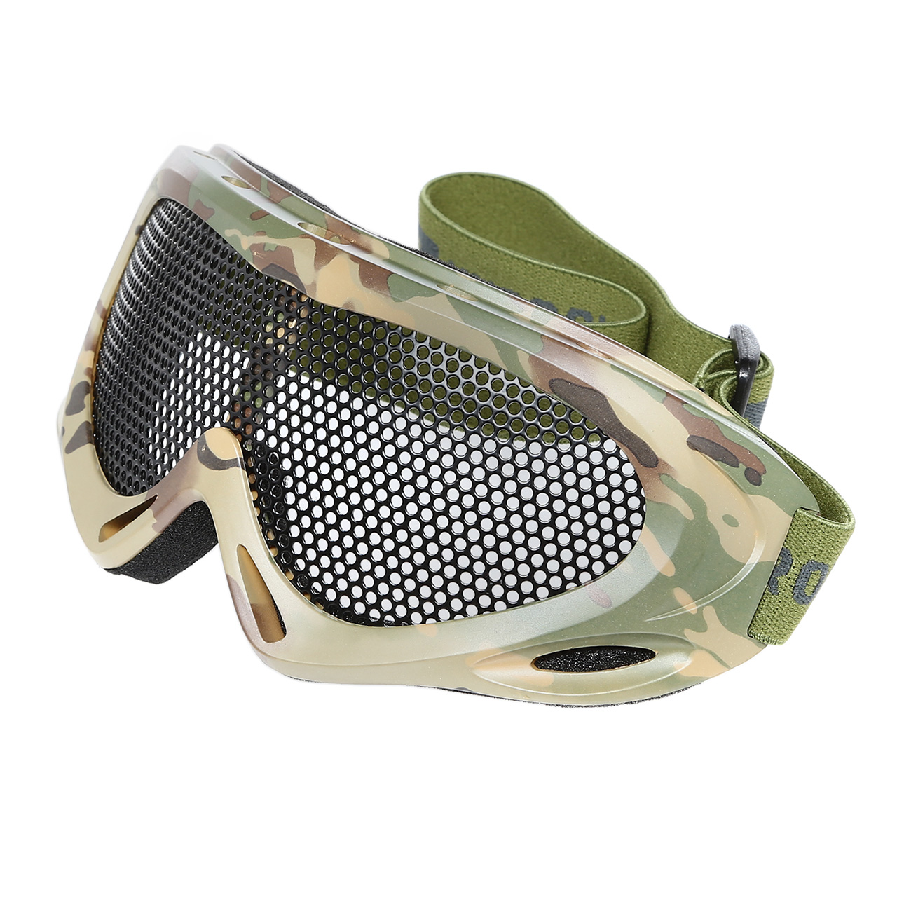 Nuprol Brille Pro Mesh Eye Protection Airsoft Gitterbrille camo 0