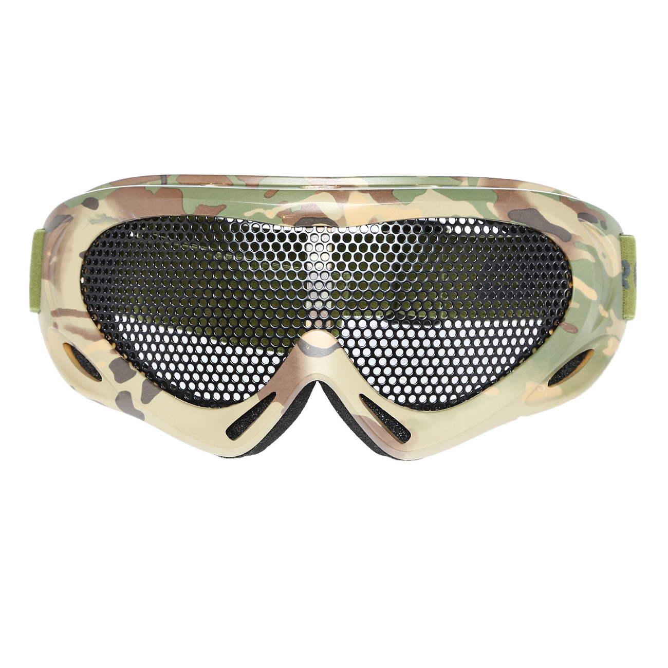 Nuprol Brille Pro Mesh Eye Protection Airsoft Gitterbrille camo 1