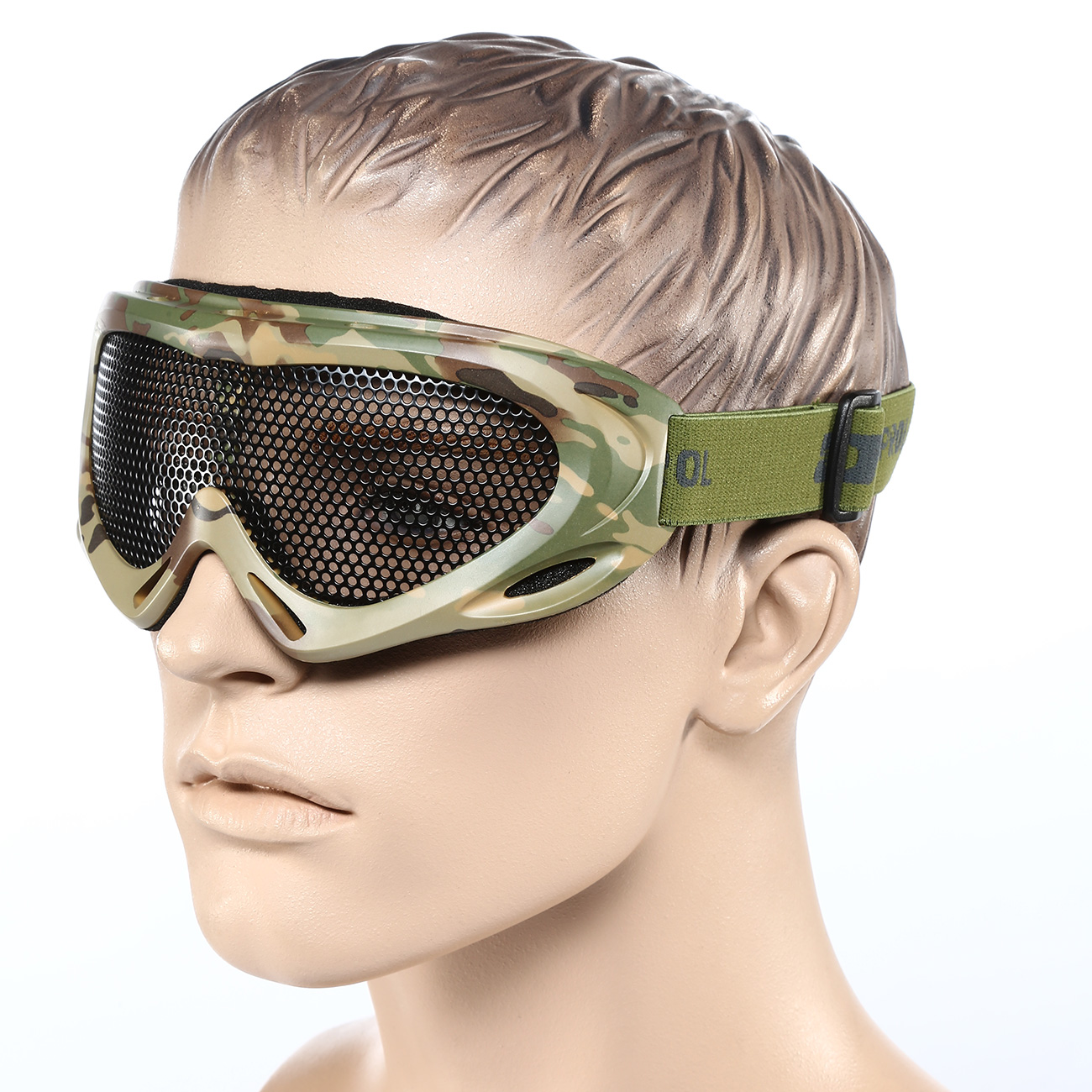 Nuprol Brille Pro Mesh Eye Protection Airsoft Gitterbrille camo 3
