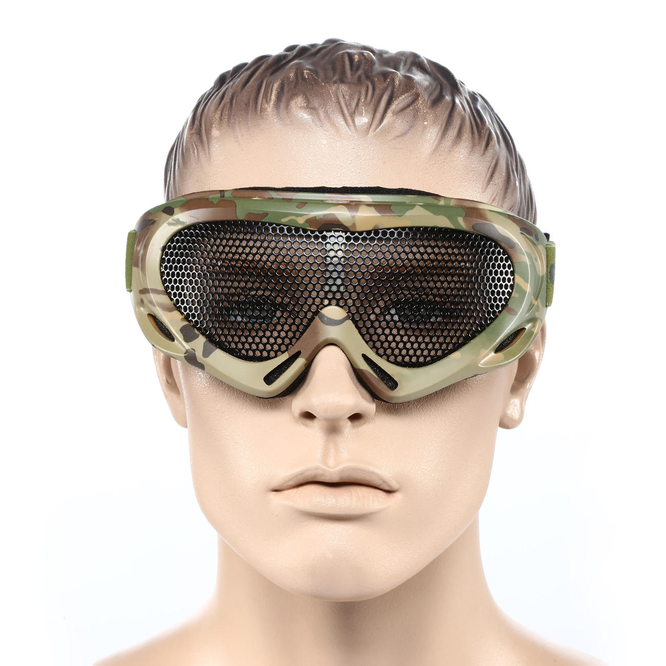 Nuprol Brille Pro Mesh Eye Protection Airsoft Gitterbrille camo 4