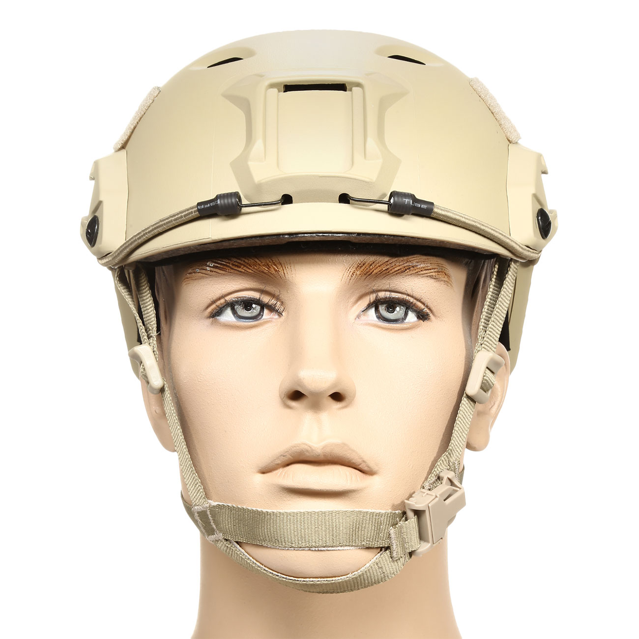 nHelmet FAST BJ Maritime Railed Airsoft Helm mit NVG Mount Dark Earth 2