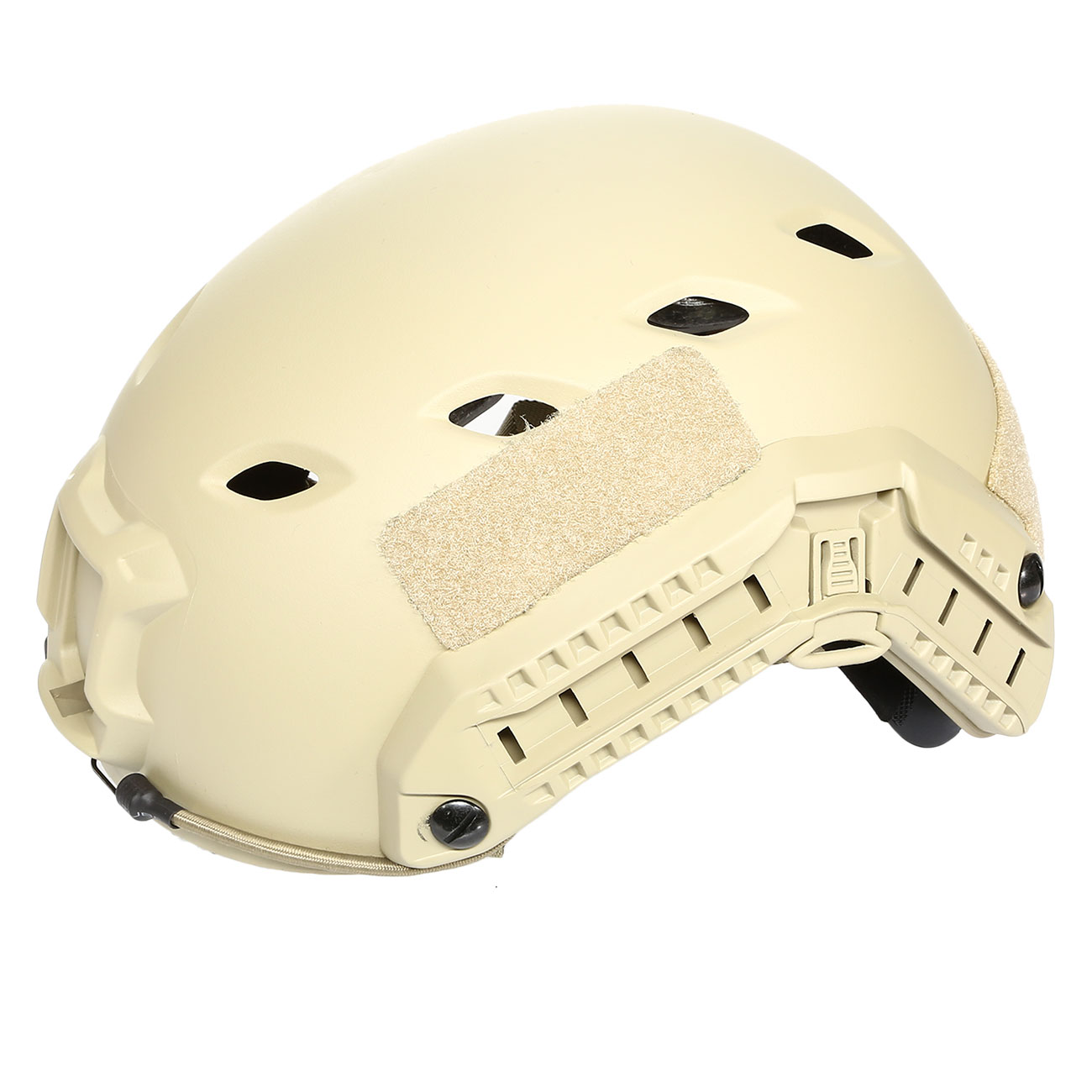 nHelmet FAST BJ Maritime Railed Airsoft Helm mit NVG Mount Dark Earth 8