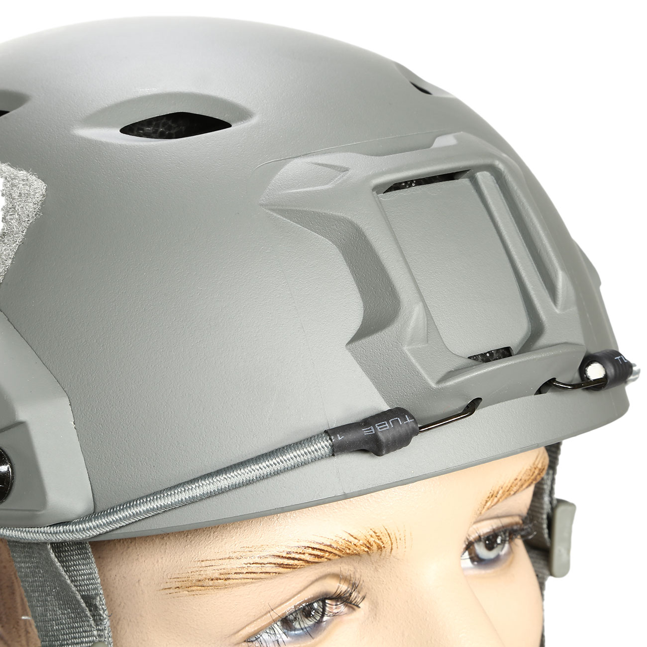 nHelmet FAST BJ Maritime Railed Airsoft Helm mit NVG Mount Foliage Green 5