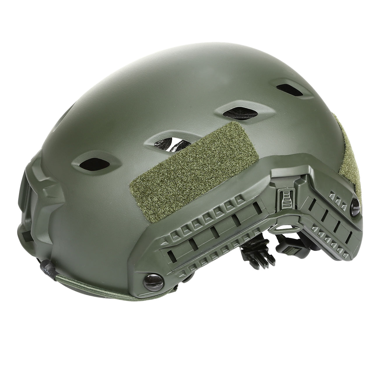 nHelmet FAST BJ Maritime Railed Airsoft Helm mit NVG Mount oliv 8