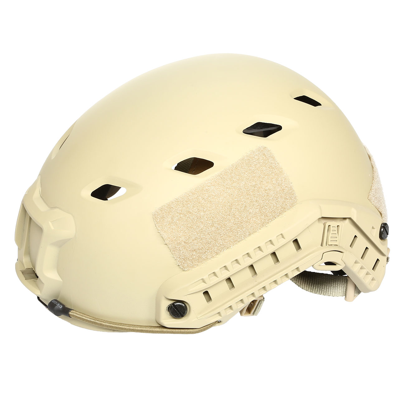 nHelmet FAST BJ Standard Railed Airsoft Helm mit NVG Mount Dark Earth 8