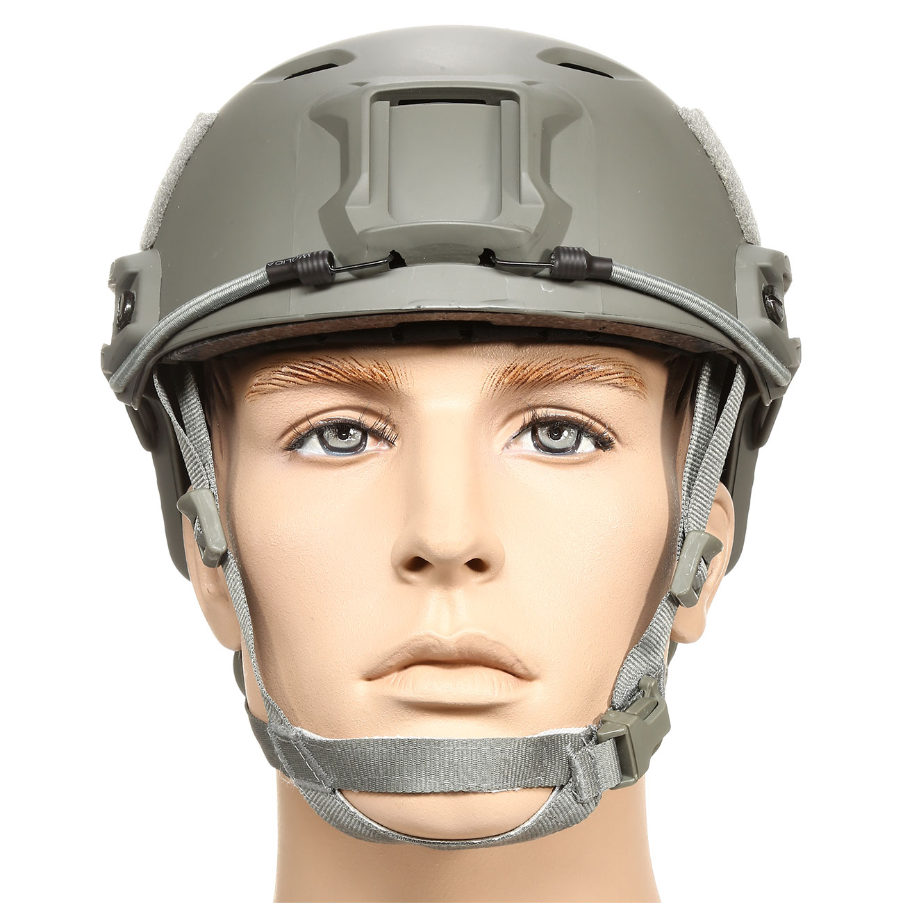 nHelmet FAST BJ Standard Railed Airsoft Helm mit NVG Mount Foliage Green 2
