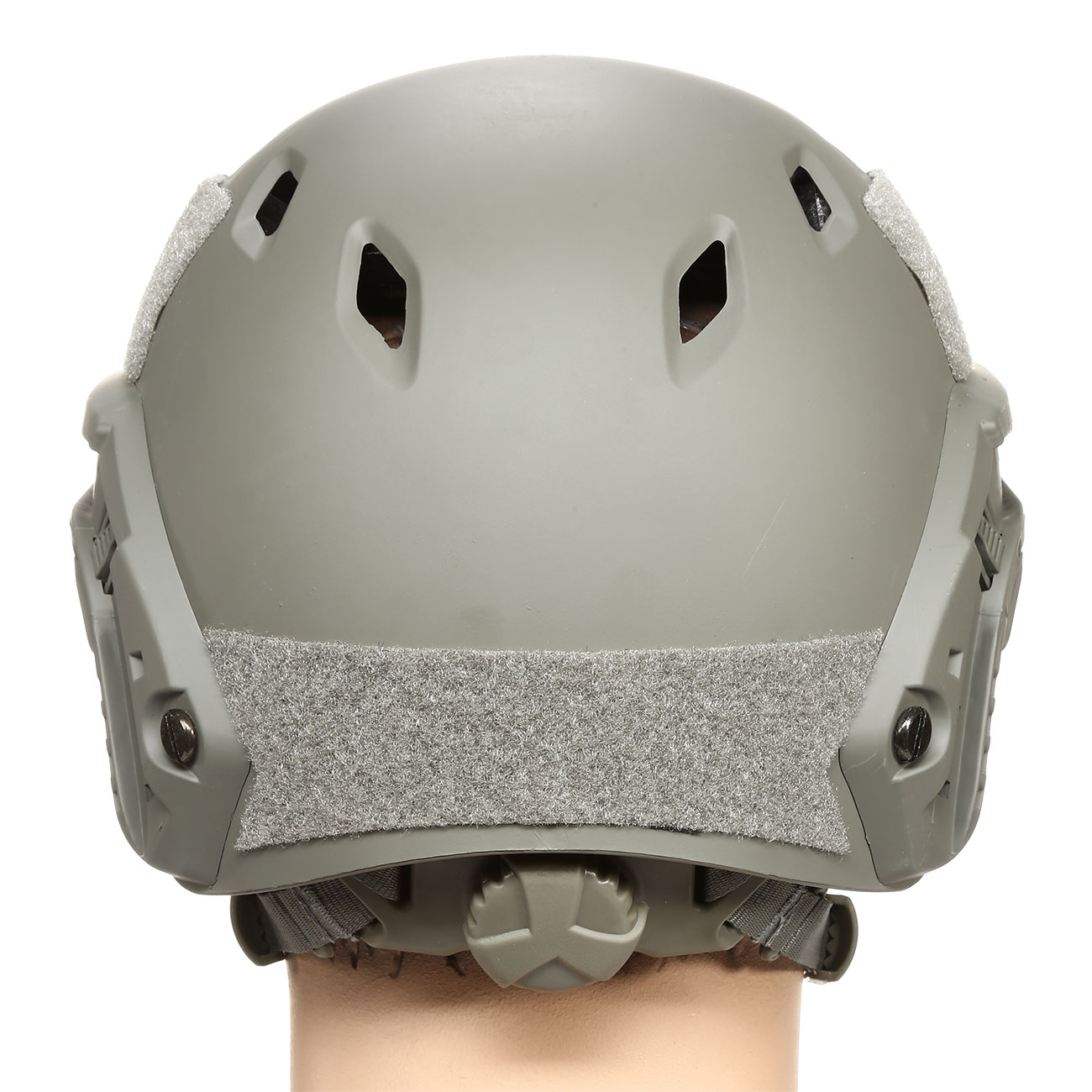 nHelmet FAST BJ Standard Railed Airsoft Helm mit NVG Mount Foliage Green 4
