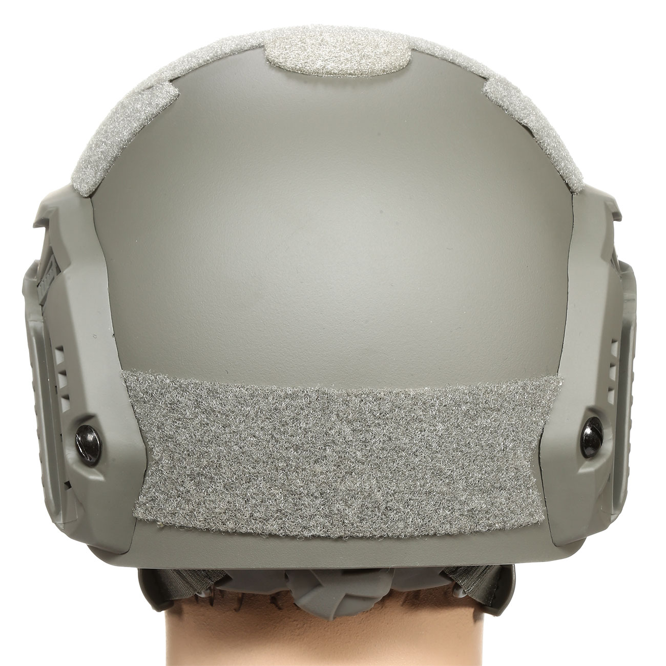 nHelmet FAST Maritime Standard Railed Airsoft Helm mit NVG Mount Foliage Green 4