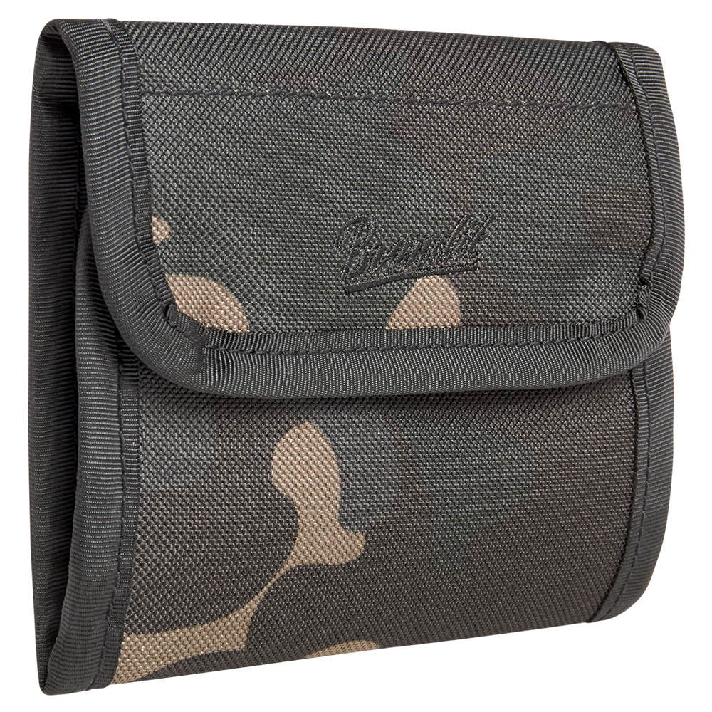 Brandit Geldbörse Wallet Five darkcamo 0