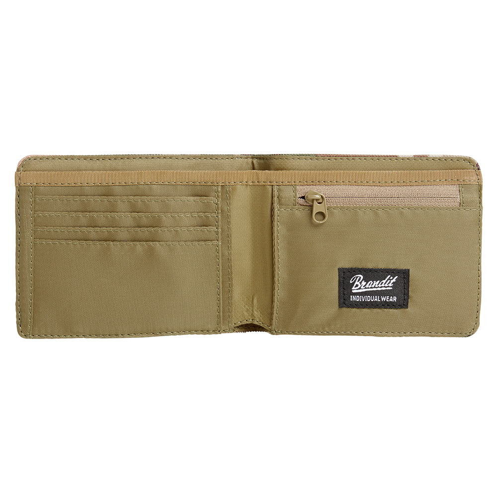 Brandit Geldbörse Wallet Four tactical camo 2