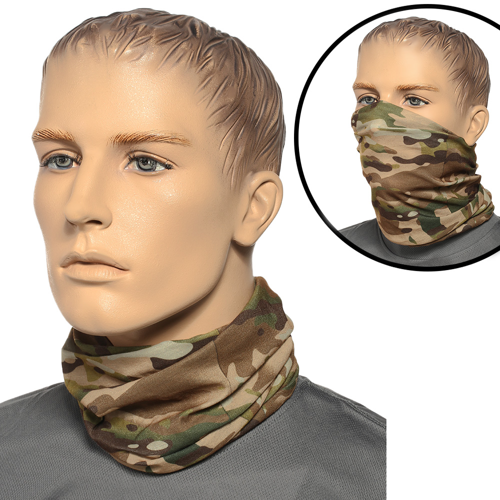 Brandit Herren Multifunktionstuch Tactical Camo 0