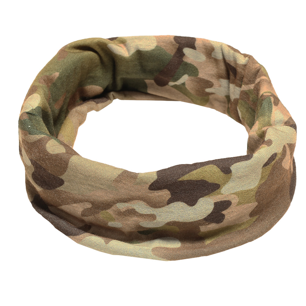 Brandit Herren Multifunktionstuch Tactical Camo 1